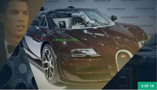 ماشین های لوکس فوق ستاره های فوتبال جهان (عکس)