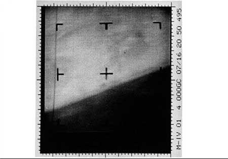 نقاشی عجیب اولین تصویر مریخ (عکس)