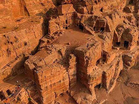 شهری که به دست اجنه ساخته شد (تصاویر)