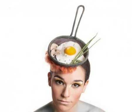 متفاوت ترین کلاه زنانه اشتها آور! (تصاویر)