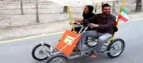 چهارچرخ جدید و سواری خانوادگی در اصفهان (عکس)