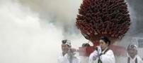 عکس های داغ و دیدنی فستیوال راه رفتن روی آتش