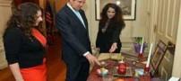 عکس های دختر جان کری و داماد ایرانی اش