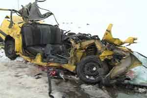 تصادف وحشتناک در جاده مشکین شهر (18+)