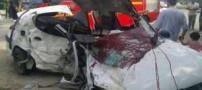 عکس های وحشتناک از تصادفات نوروز 93 (18+)