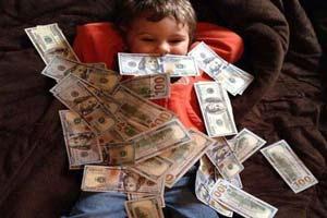 ورود کودکان مایه دار به شبکه های اجتماعی (عکس)