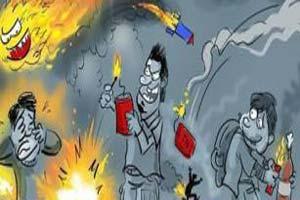 خنده دار چهارشنبه سوری در گذر زمان
