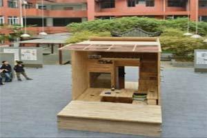 کوچک و جالب ترین خانه جهان ساخته شد (عکس)