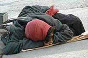 ماجرای تکان دهنده زن کارتون خواب در تهران