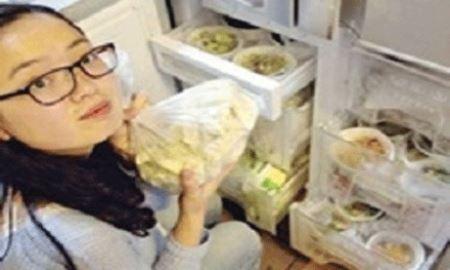 مردی که مجبور شد غذای 1 سال همسرش را یکجا بپزد! عکس