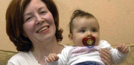 باورنکردنی از زن 65 ساله ای که 4 قلو باردار است (عکس)