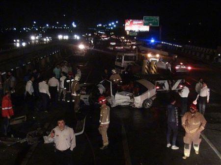 تصادف مرگبار و مرموز پورشه BMW در خیابان شریعتی (عکس)