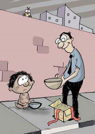 زیباترین کاریکاتورهای مفهومی