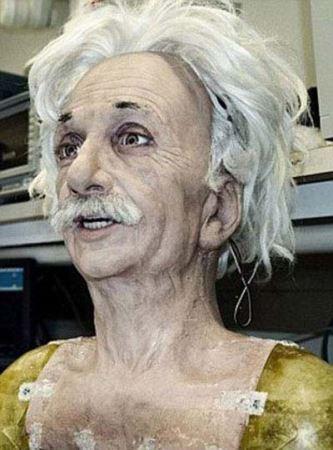 باورنکردنی از چهره انسان نمای انیشتین ! عکس