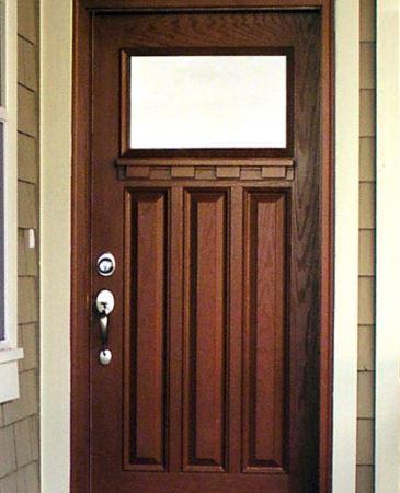 شیک ترین طرح های درب های ورودی خانه 2015