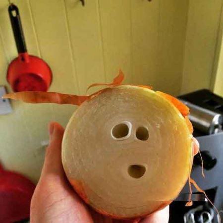 صورت های جالب و نهفته در خوراکی ها!