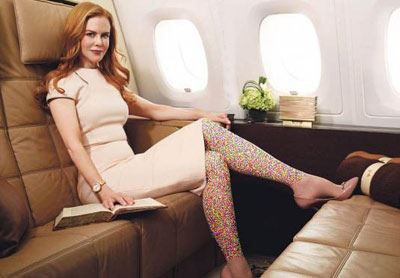 یکول کیدمن مدل تبلیغاتی شرکت عربی شد! (عکس)