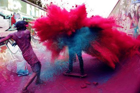 عکس هایی از جشن هولی در هند!