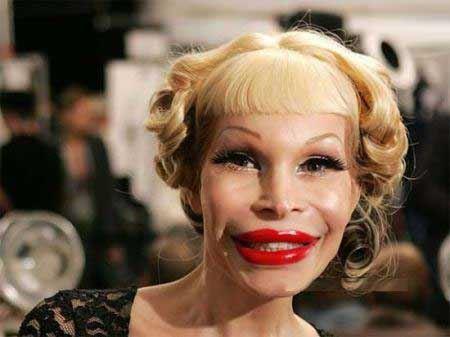 عکس هایی از زشت ترین زنان مصنوعی !