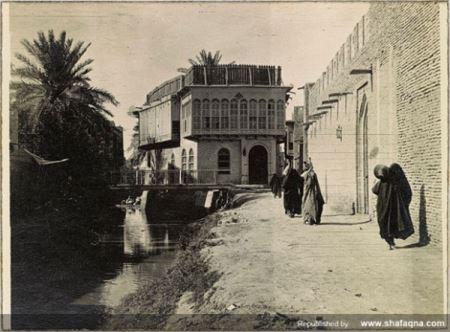 عکس ناب و تاریخی 100 سال پیش خرمشهر