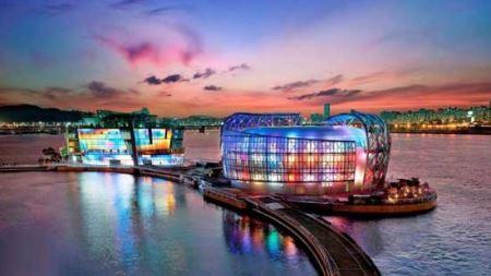 شاهکارهای دیدنی و معماری روی آب (عکس)