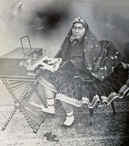 انتخاب ملکه مازندران در سال 1313 (عکس)