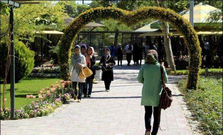 باغ گل دیدنی پارک چمران کرج (عکس)