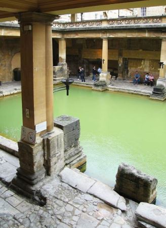 حمام تاریخی دیدنی رومی در استامبول (عکس)
