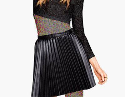 جدیدترین مدل دامن های چرم مجله Elle