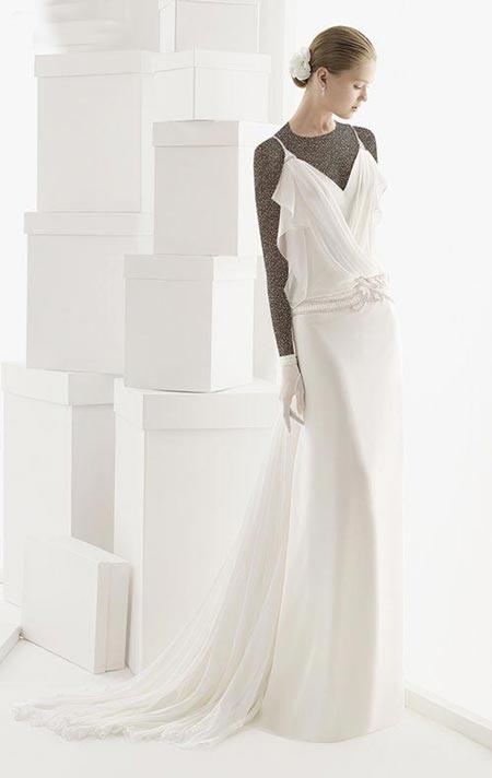 جدیدترین مدل لباس های عروس اروپایی 2015