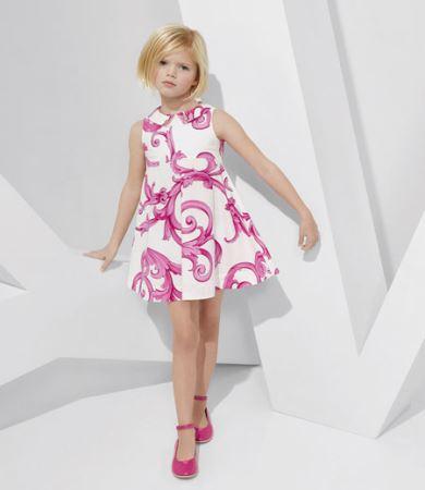 مدل لباس کودکانه و زیبای ورساچه بهار 2015