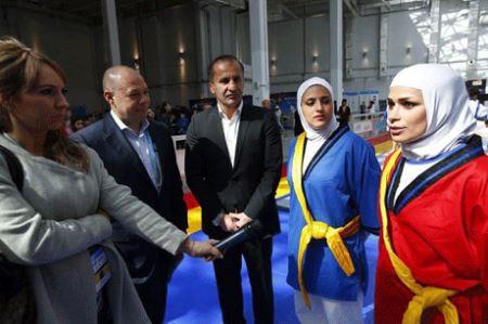 عکس های جنجالی اولین کشتی زنان ایران در جهان
