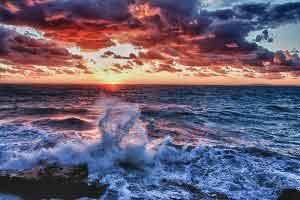 وقوع یک اتفاق هنری و جالب روی دریا (عکس)