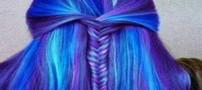 زیباترین رنگ موهای فانتزی