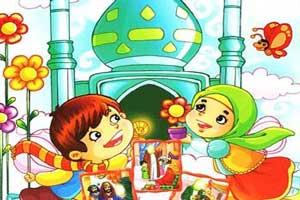 شعر مذهبی و زیبای کودکانه