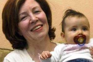جنجال بارداری 4 قلوی زن 65 ساله (عکس بارداری)