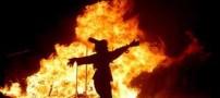 منفجر شدن صورت سرباز مشهدی (عکس)