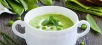 طرز تهیه سوپ نخود فرنگی با رزماری