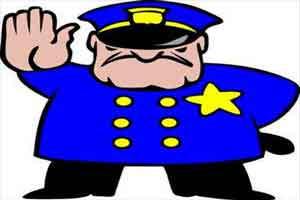 طنز با حال برخورد پليس در نقاط مختلف جهان