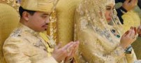 ازدواج پر زرق و برق پسر سلطان (عکس)