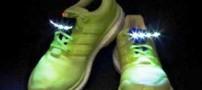 کفش جالبی که در شب می درخشد (عکس)