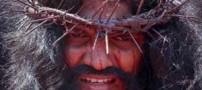 عکس هایی از مراسم خرافی مصلوب کردن (13-)