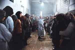 عکس نایاب ازدواج زندانیان ندامتگاه قصر سال 1360