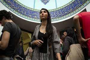 بی حجابی دختران دانشجو در دانشگاه امام صادق (عکس)