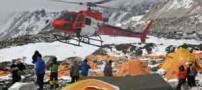 گزارش تصویری کشته شدن 17 کوهنورد در ریزش بهمن