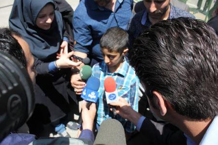 غوغای ربوده شدن پسر 14 ساله در تهران (عکس)