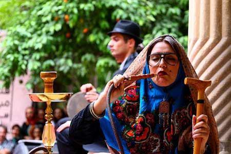 حضور جنجالی دختران داش مشتی در شیراز (عکس)