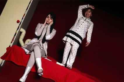 اجرای تئاتر شرم آور و هنجار شکن در مشهد (عکس)