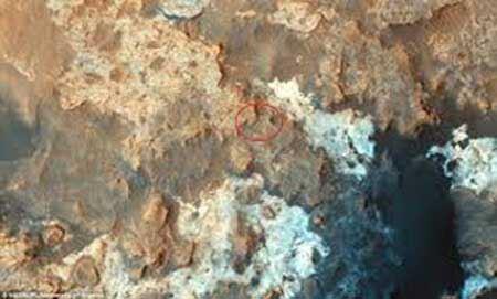 شناسایی عجیب پناهگاه موجوادت فضایی مریخ (عکس)