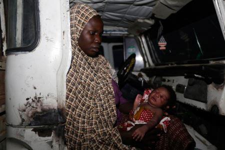 عکس های غم انگیز زنانی که از چنگال بوکوحرام فرار کردند